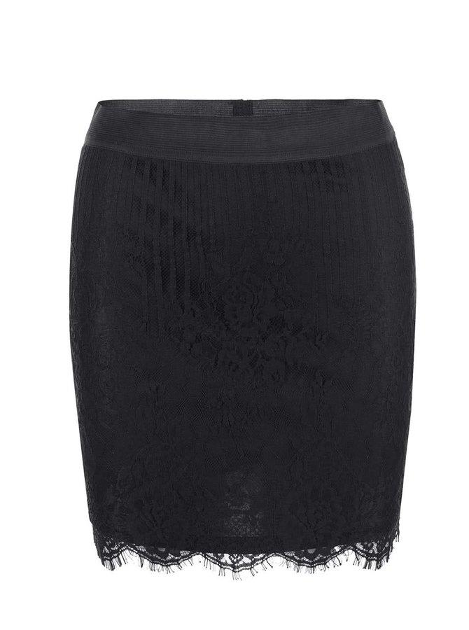 Černá sukně VILA Lasso