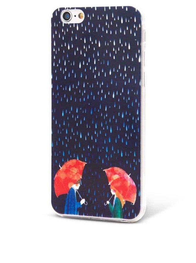 Husă Epico In The Rain de culoare albastră, pentru iPhone 6/6S