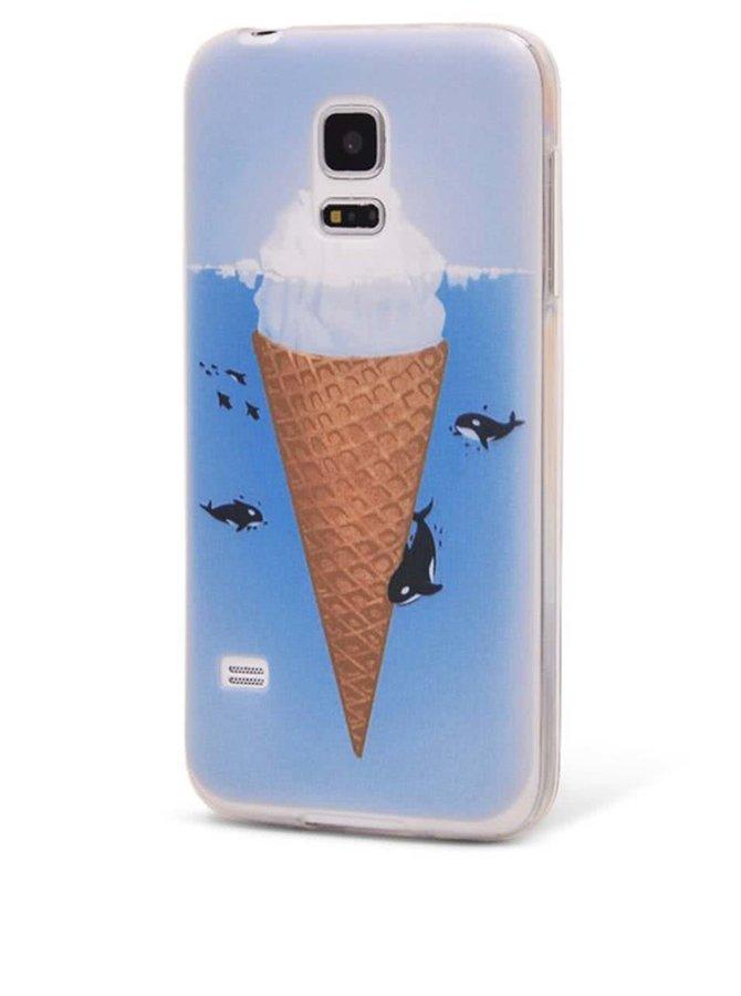 Carcasă Epico Iceberg albastră pentru Samsung Galaxy S5 Mini