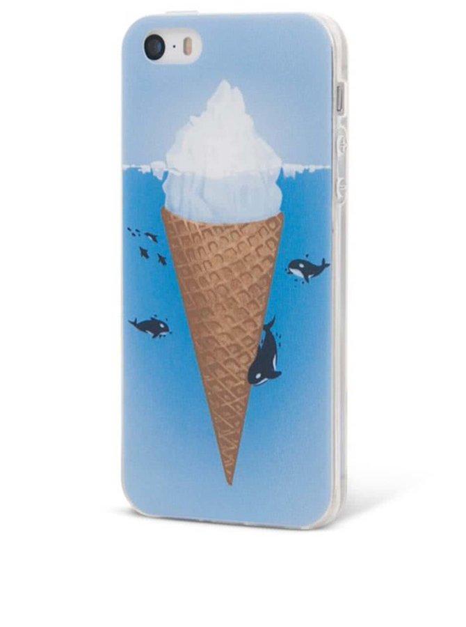 Modrý ochranný kryt na iPhone 5/5s Epico Iceberg