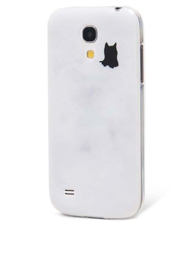 Šedý ochranný kryt na Samsung Galaxy S4 mini Epico Fading Cats