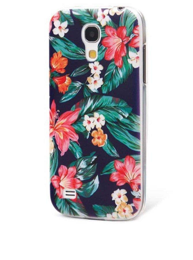 Barevný ochranný kryt na Samsung Galaxy S4 mini Epico Flowery