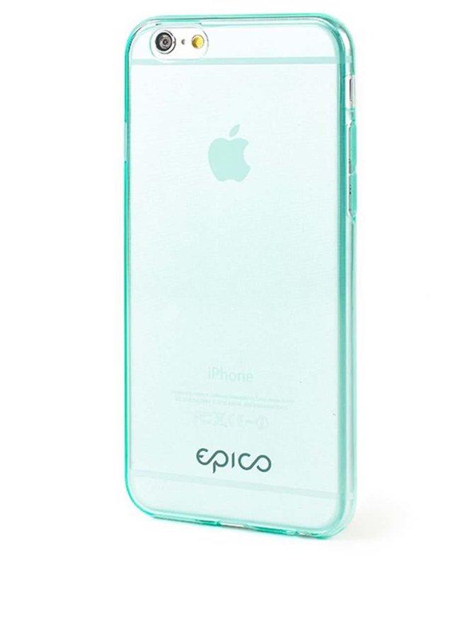 Zelený ultratenký transparentný kryt na iPhone 6 Epico Twiggy Gloss