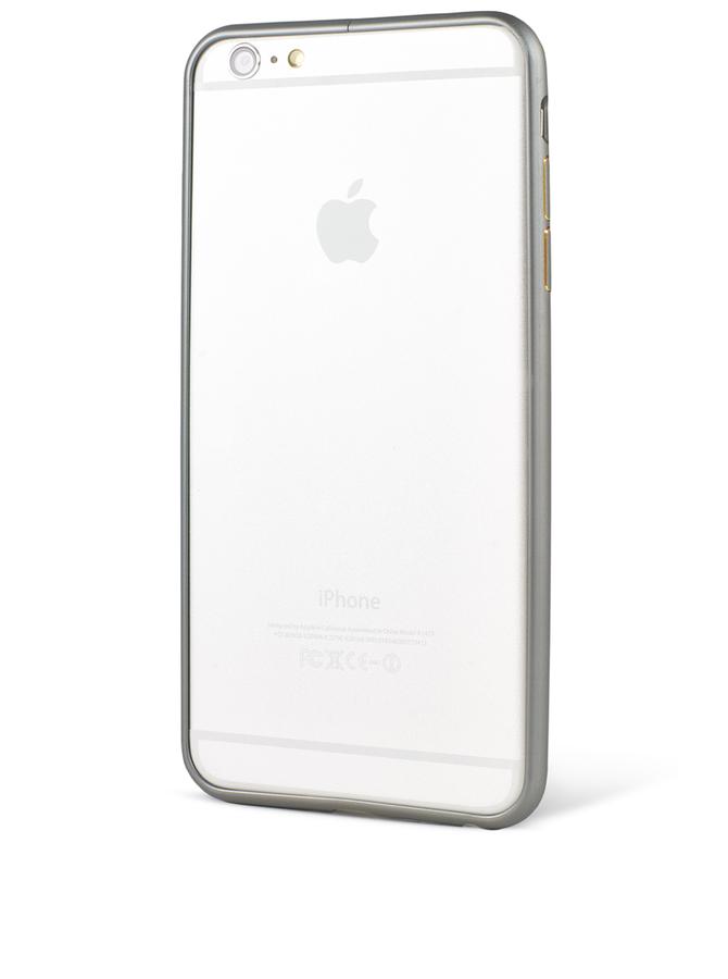 Bumper Epico Hero Hug negru din aluminiu pentru iPhone 6 Plus
