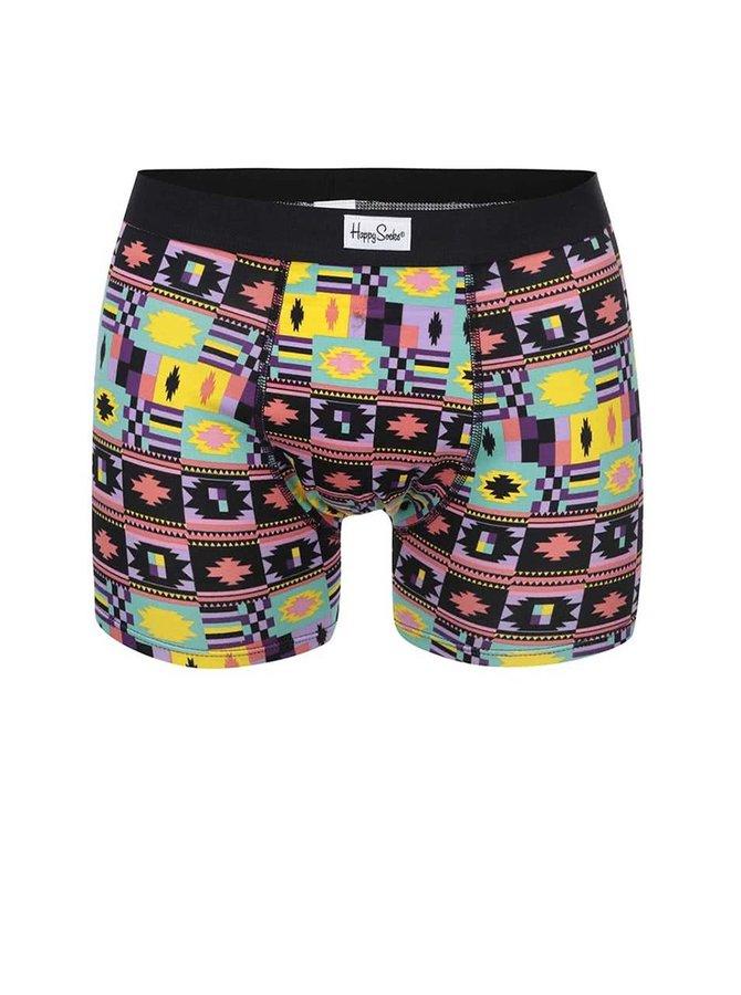 Șort boxer bărbătesc cu imprimeu colorat, Happy Socks