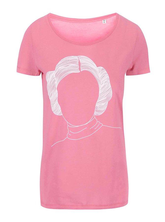 Ružové dámske tričko ZOOT Originál Leia