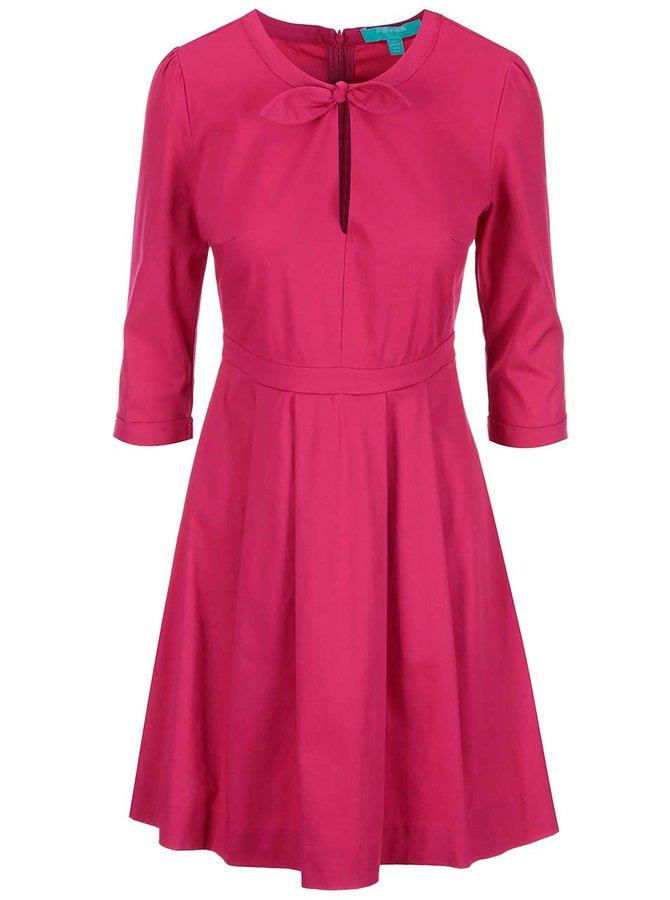Fuchsiové šaty Fever London Tabitha