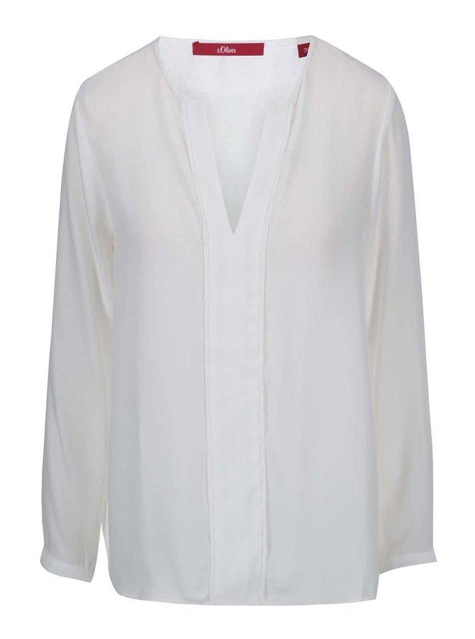 Bluză albă s.Oliver