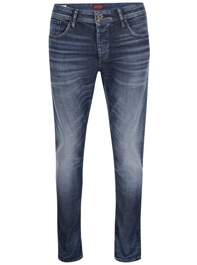 Tmavě modré džíny Jack & Jones Glenn