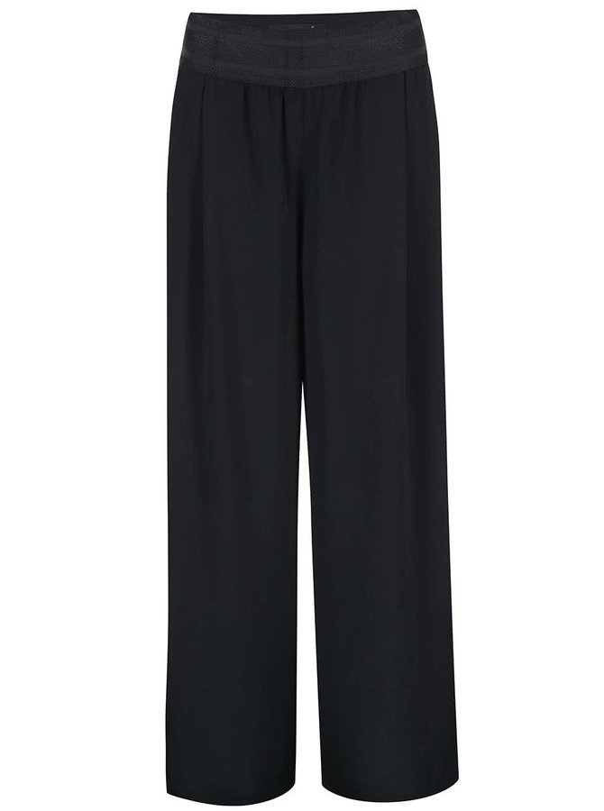 Čierne voľné nohavice ONLY Alex