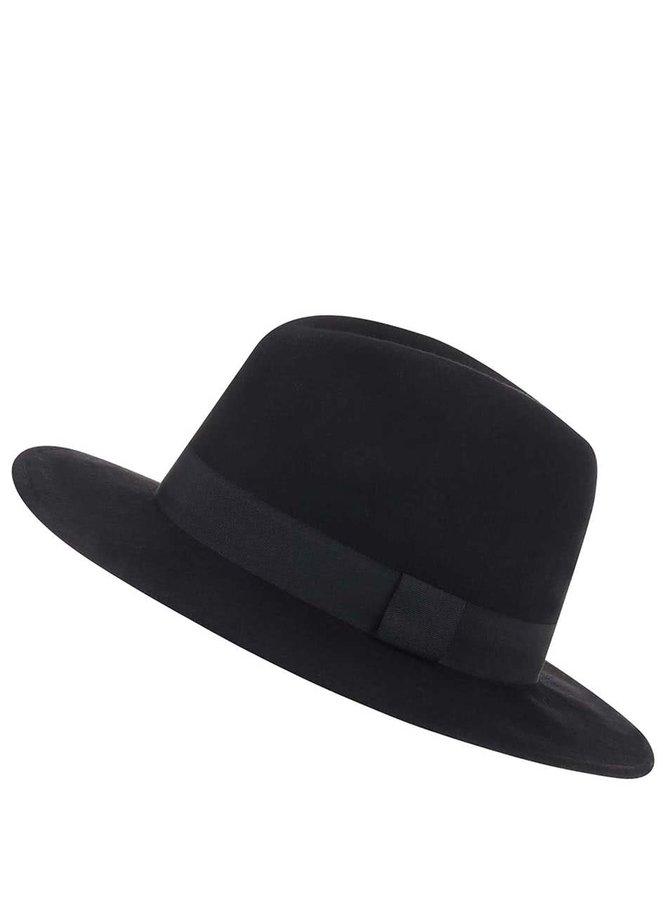 Černý klobouk Pieces Varona