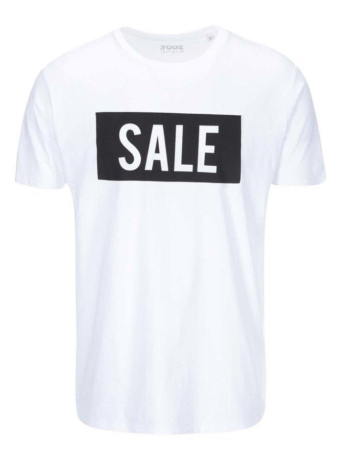 Bílé pánské triko ZOOT Originál Sale