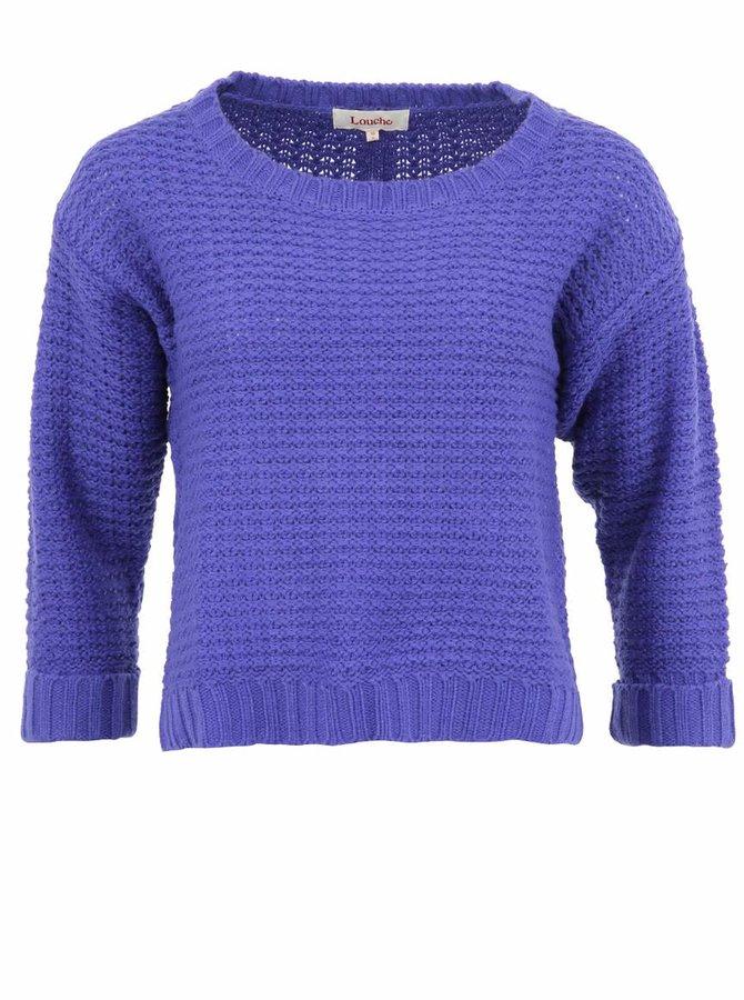 Pulover cu croială lejeră Louche Reenie violet