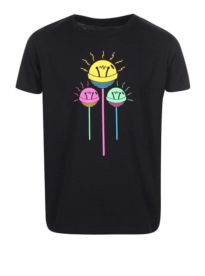 Černé dětské tričko ZOOT Signal Lollipop