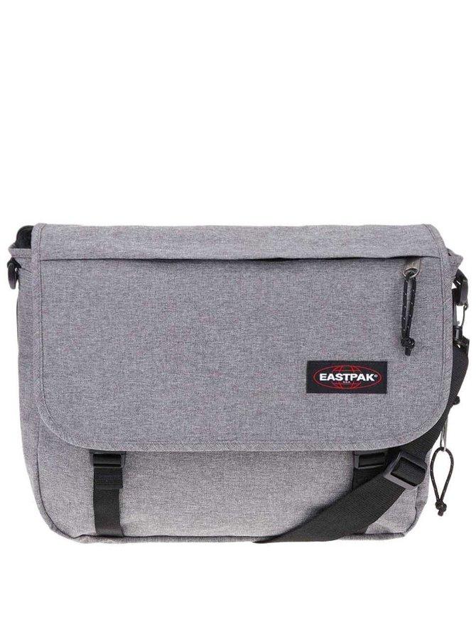Šedá taška přes rameno Eastpak Delegate