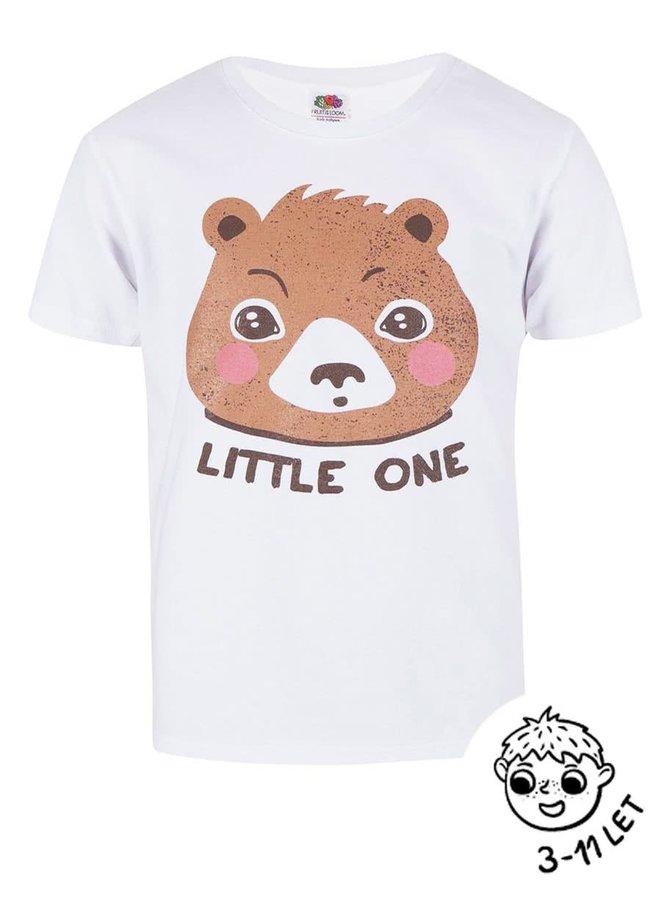 Bílé klučičí triko ZOOT Kids Little one