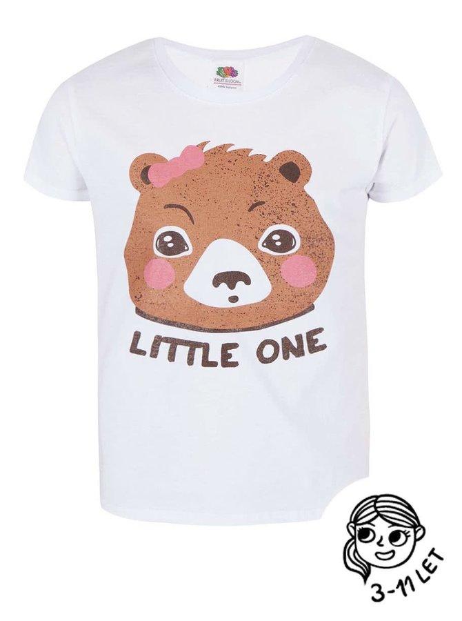 Bílé holčičí tričko ZOOT Kids Little one