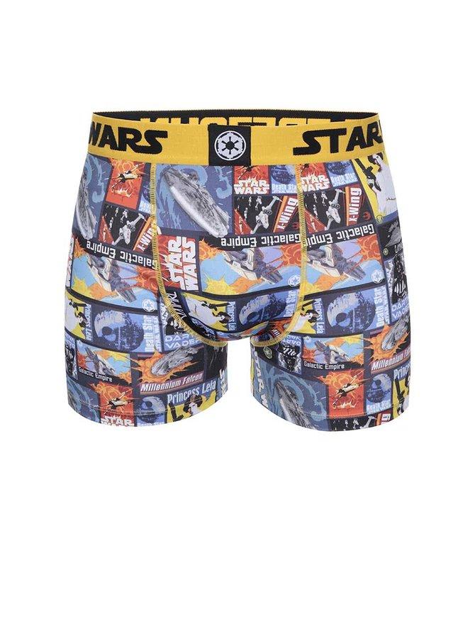 Farebné potlačené boxerky Star Wars Freegun