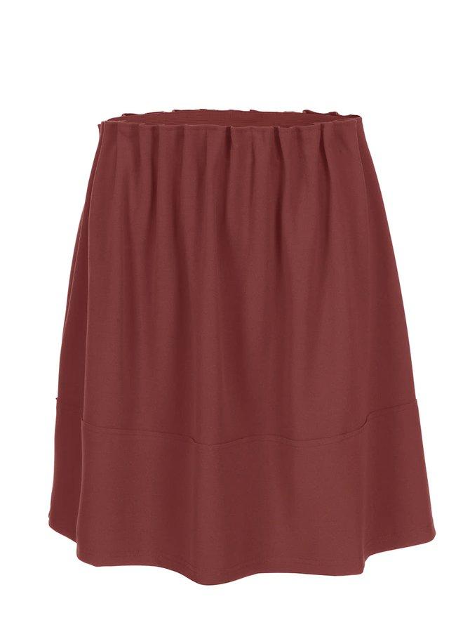 Cihlová sukně Vero Moda Tuline