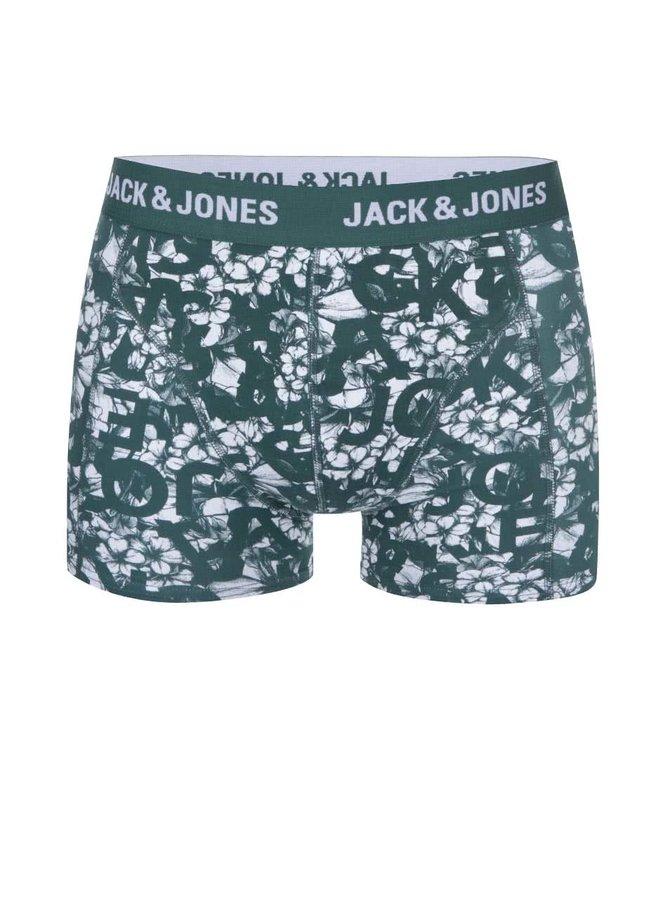 Boxeri verzi cu imprimeu Jack & Jones Actrotype