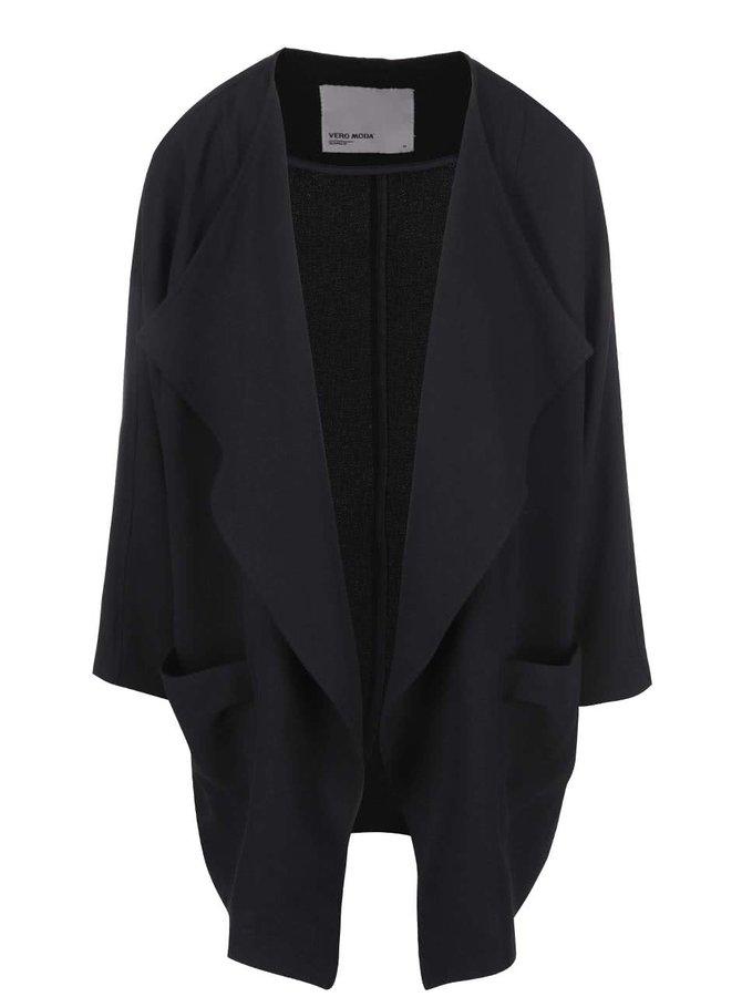 Černý blejzr s kimonovými rukávy VERO MODA Dara