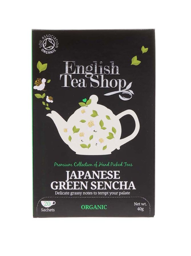Ceai verde japonez organic English Tea Shop