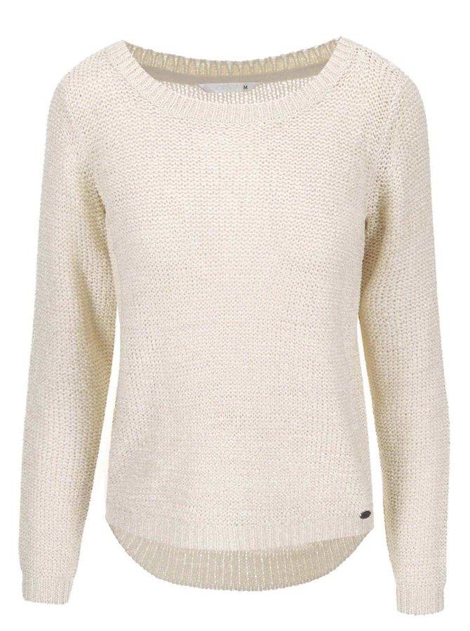 Béžový pletený sveter ONLY Geena