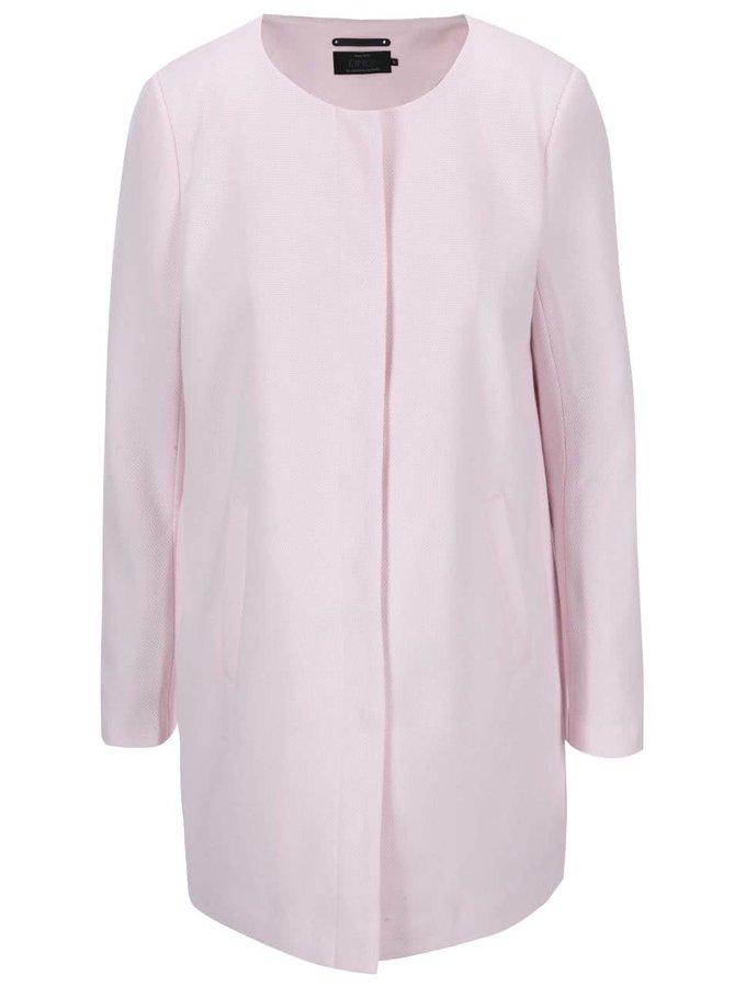 Jachetă subțire roz deschis ONLY Sidney