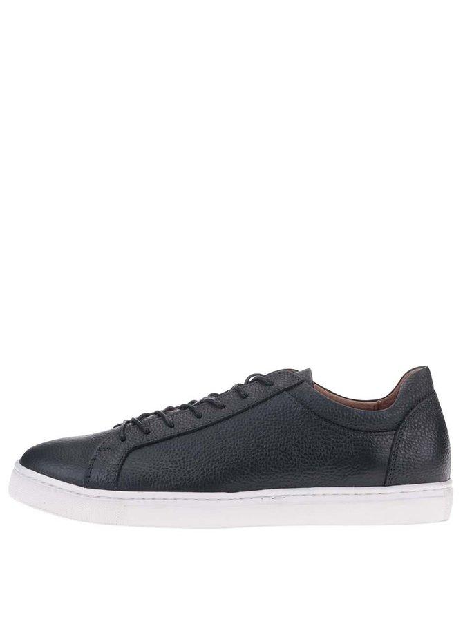 Pantofi sport bleumarin din piele Selected Dylan