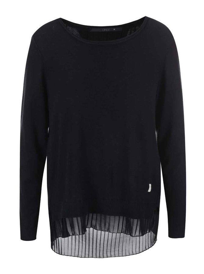 Čierny tenký sveter ONLY Lynn