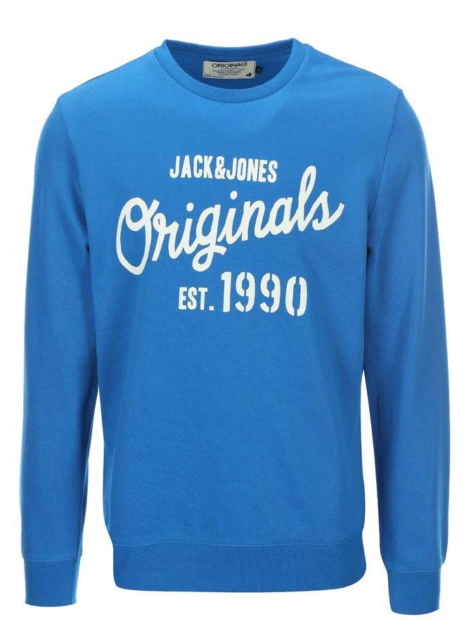 Modrá mikina Jack & Jones Join
