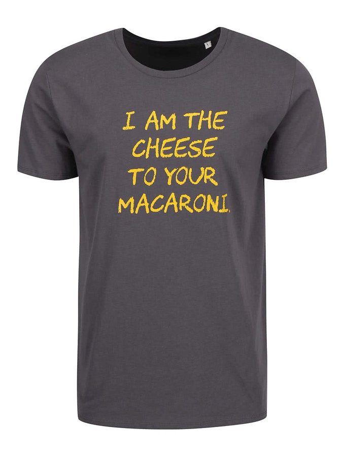 Sivé pánske tričko ZOOT Originál Macaroni