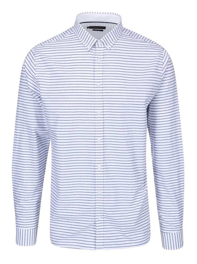 Modro-bílá pruhovaná košile Casual Friday by Blend