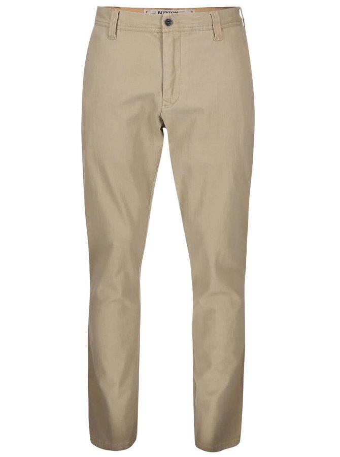 Béžové pánske nohavice Burton Sawyer
