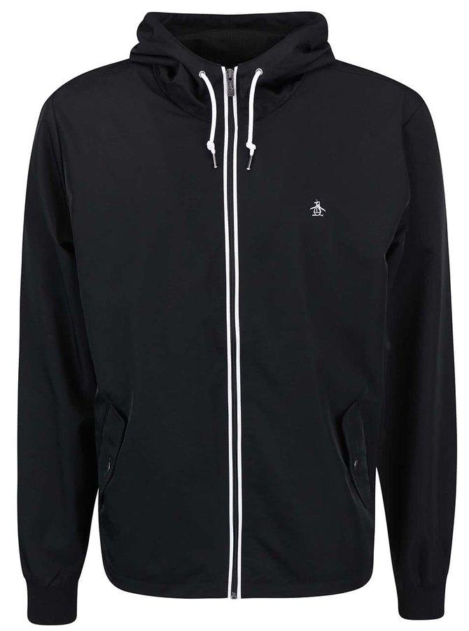 Jachetă bărbătească neagră subțire Original Penguin Ratner