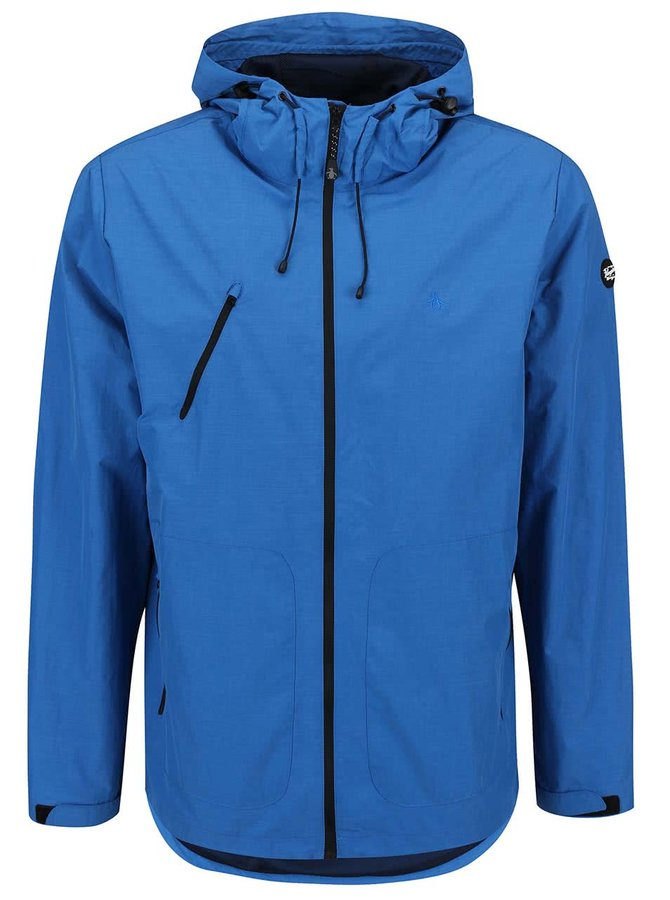 Modrá lehká bunda s kapucí Original Penguin Traxtion