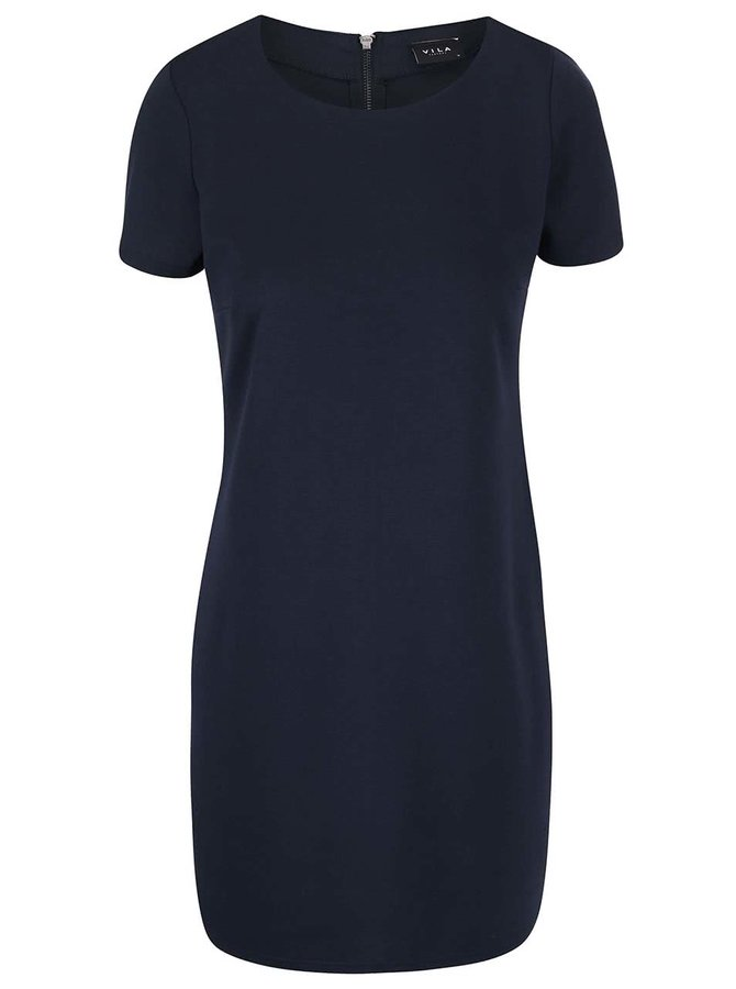 Tmavě modré šaty VILA Tinny