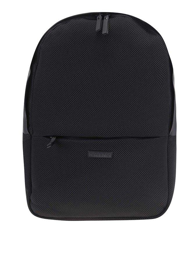 Černý voděodolný batoh RAINS