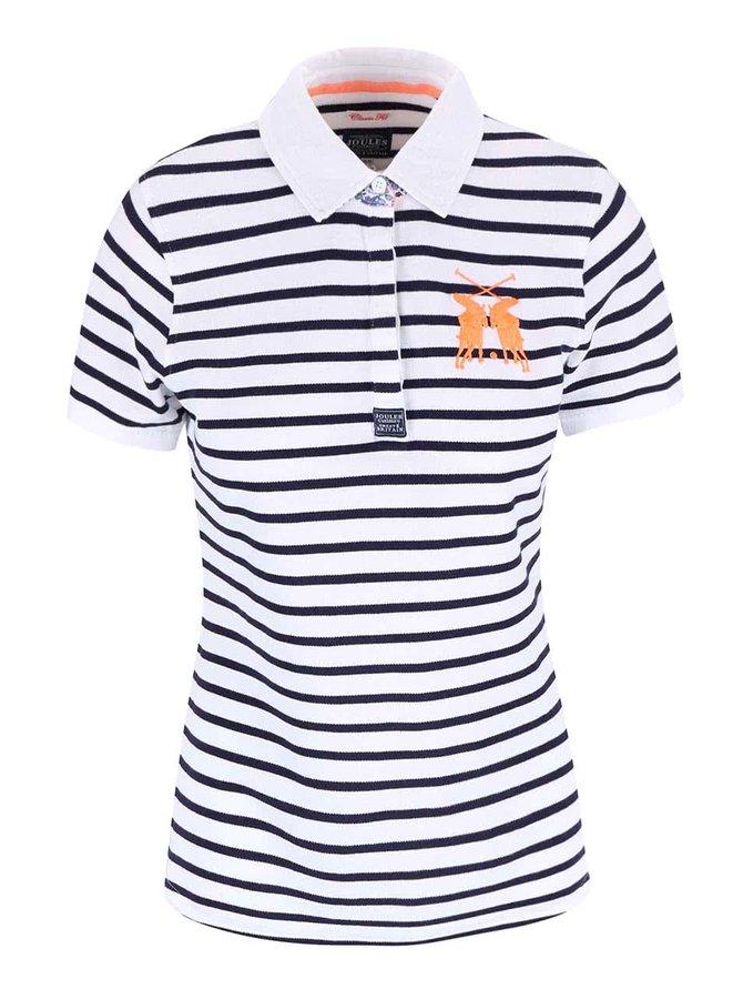 Modro-bílé dámské pruhované polo tričko Tom Joule Philippa