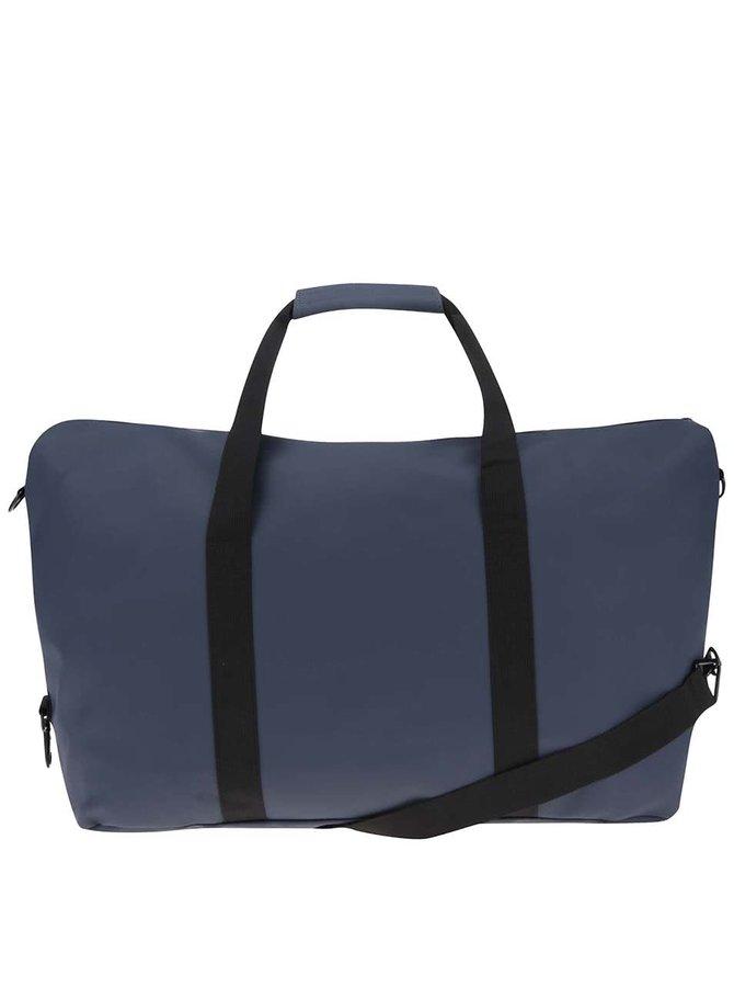Tmavě modrá cestovní taška RAINS