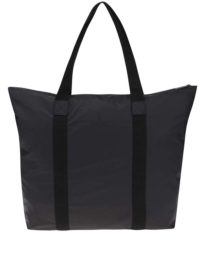 Černá cestovní taška s delšími uchy RAINS