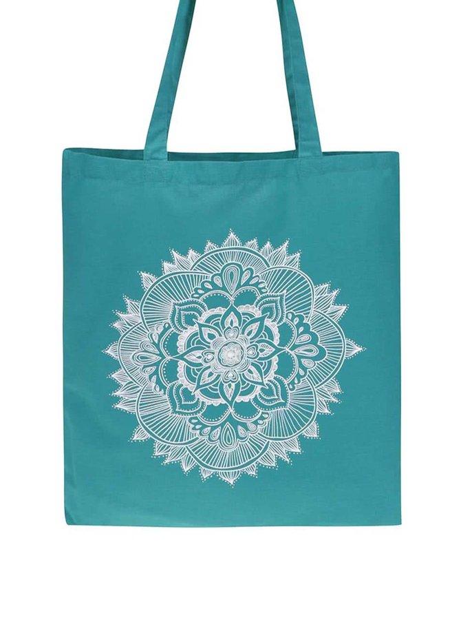 Tyrkysová plátenná taška ZOOT Originál Mandala