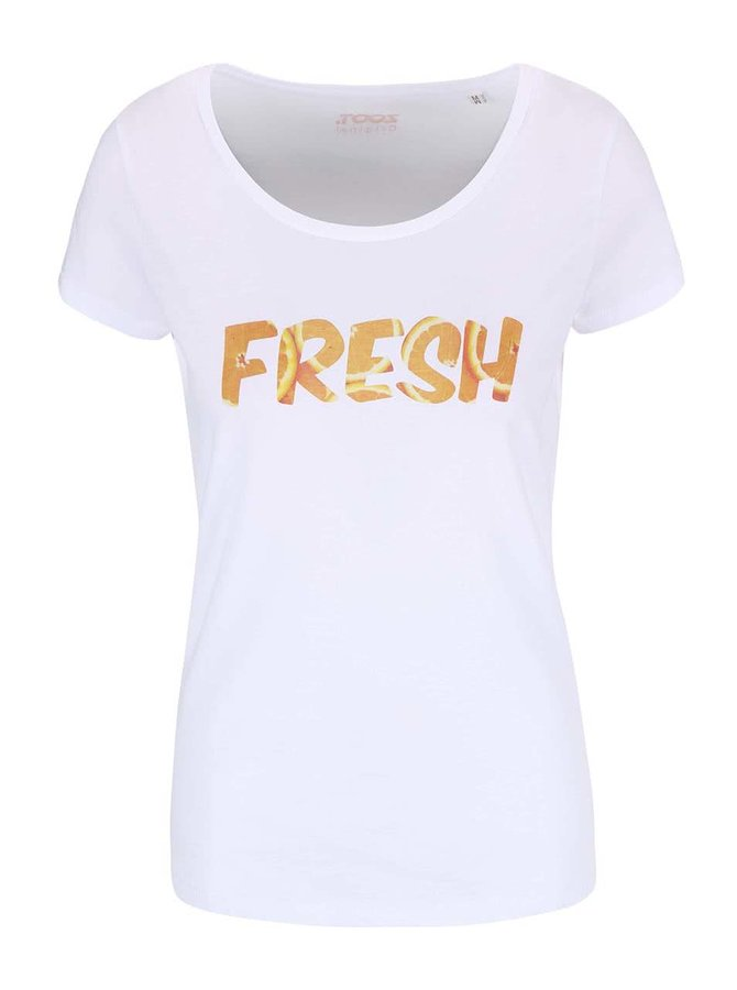 Tricou alb pentru femei ZOOT Original Fresh