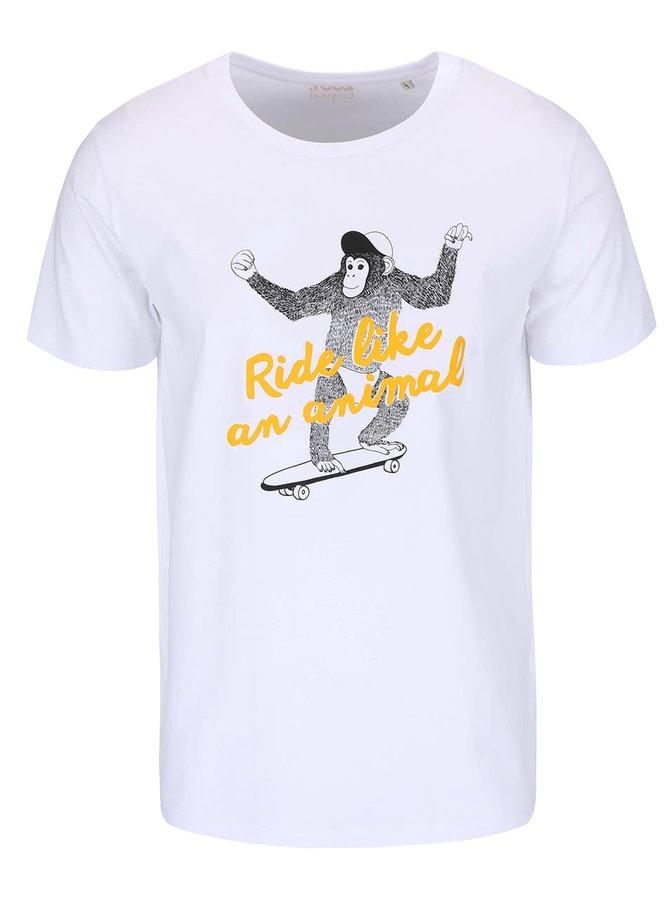 Bílé pánské triko ZOOT Originál Monkey