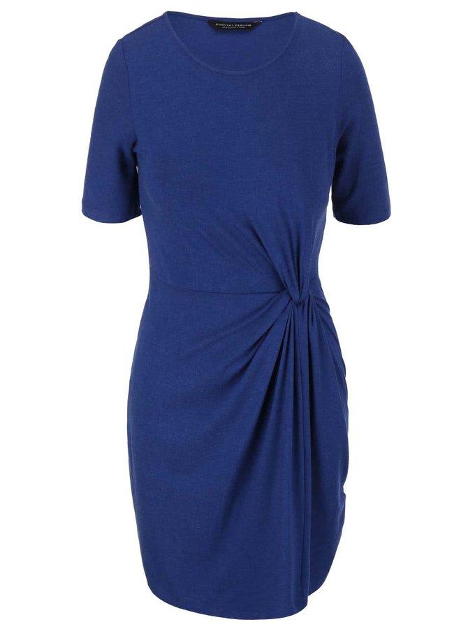 Rochie cu mânecă scurtă albastră Dorothy Perkins