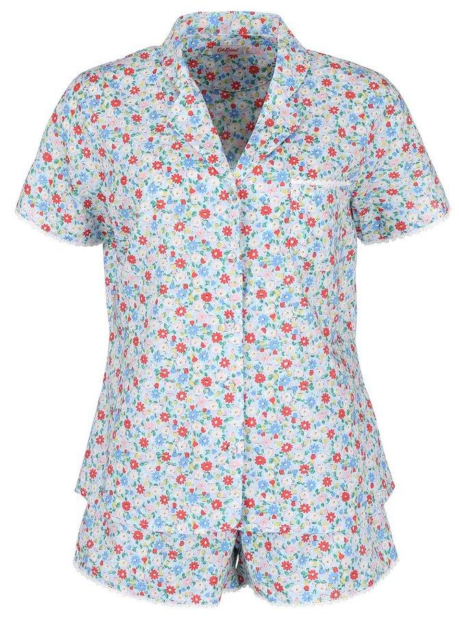 Svetlomodré dámske kvetované pyžamo Cath Kidston