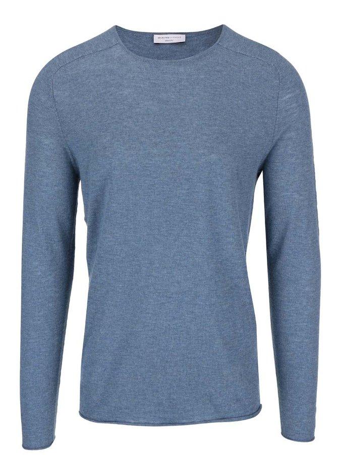Modrý svetr Selected Homme Enton
