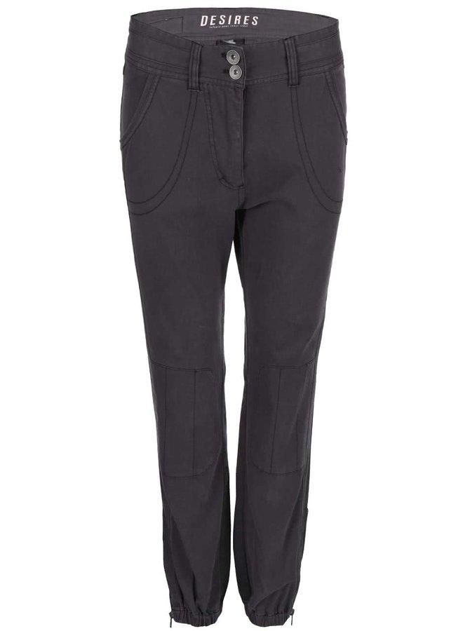 Tmavě šedé kalhoty Desires Twerk