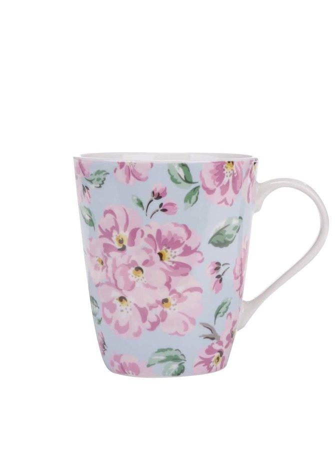 Svetlomodrý kvetinový hrnček Cath Kidston