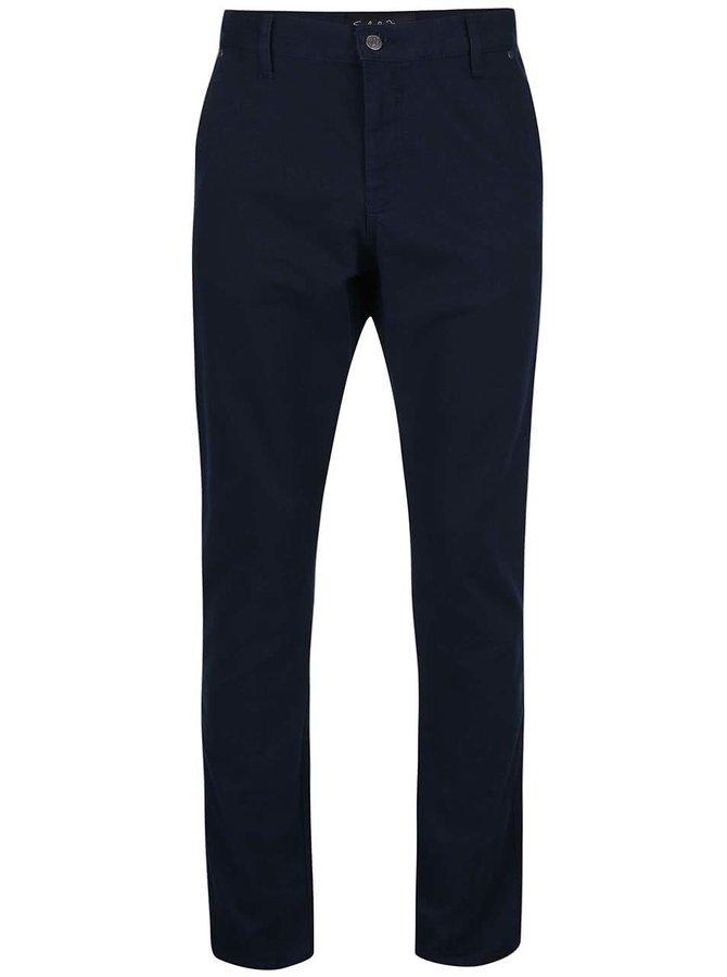 Tmavě modré chino kalhoty !Solid Mak
